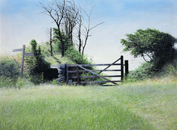 Gate_with_Sign_Post,60cm_x_50cm,£175.jpg