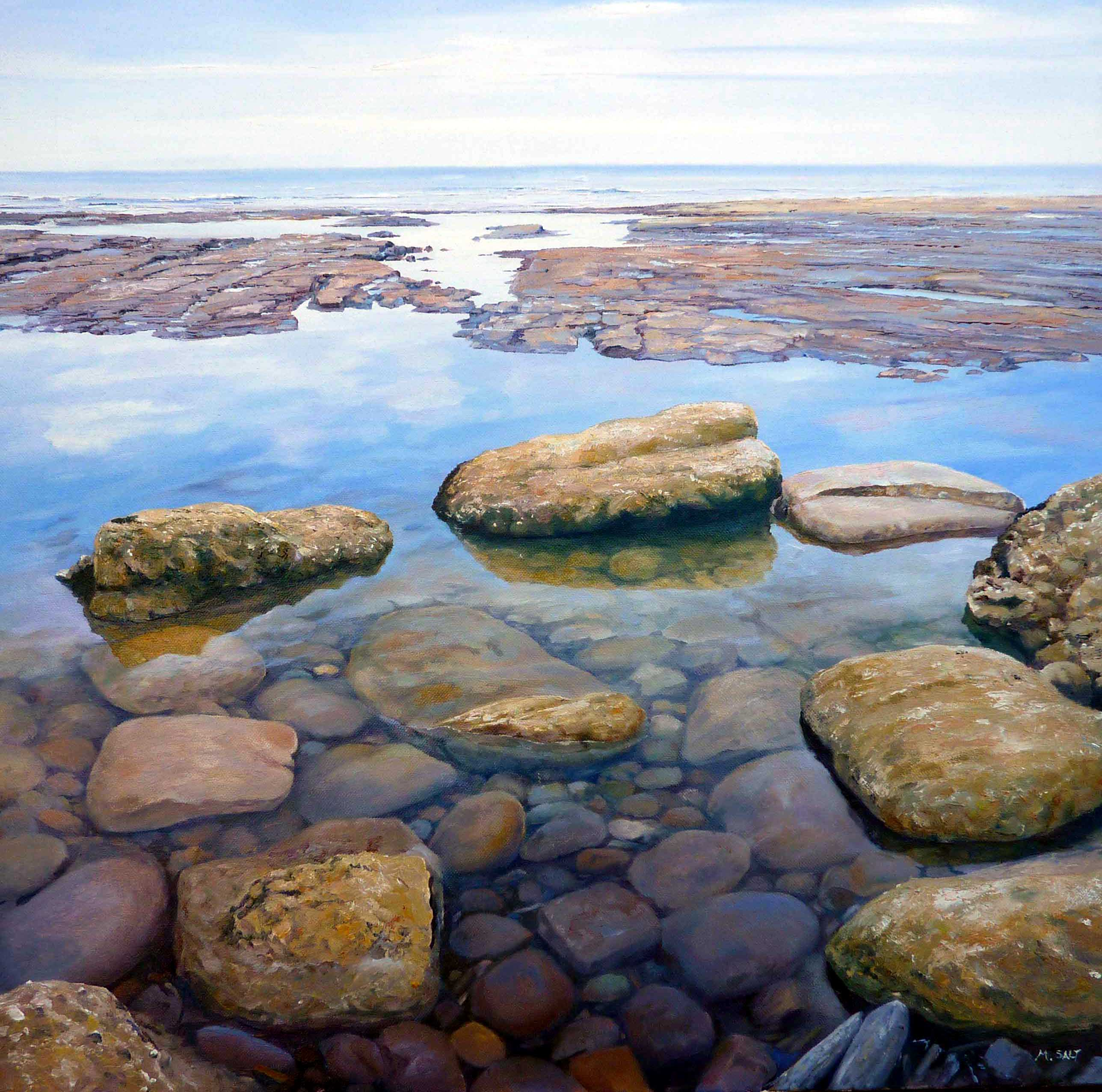 Rock pool 1,oil,60cm x 60cm,-ú185.JPG