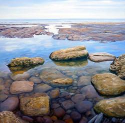 Rock pool 1,oil,60cm x 60cm,-ú185.JPG