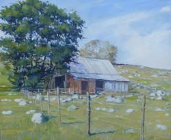 Old Barn,oil,30cm x 25cm.JPG