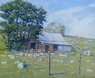 Old Barn,oil,30cm x 25cm.JPG