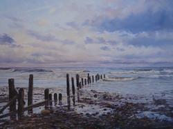 January Tide,oil,40cm x 26cm.