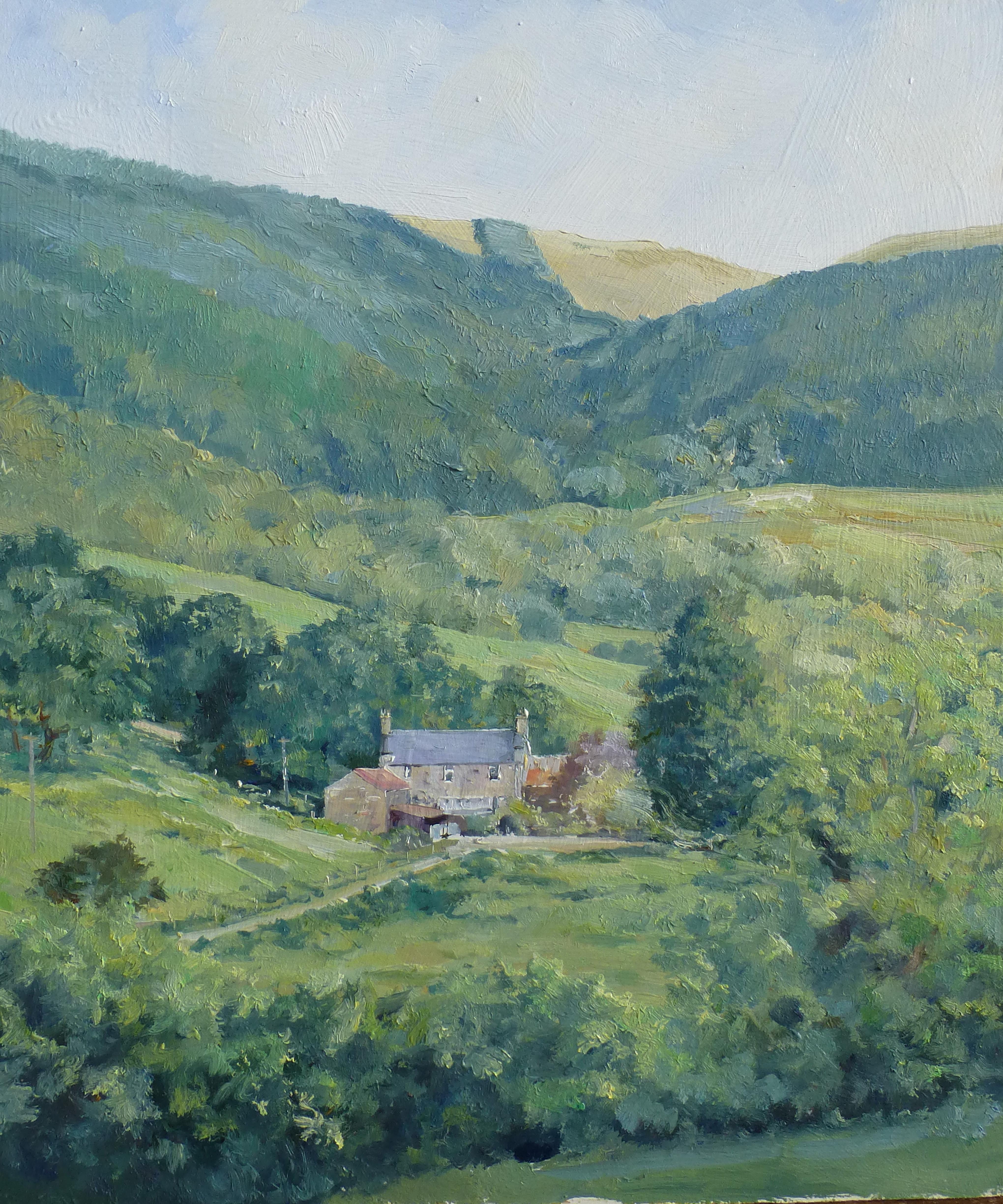 Hillside Farm,oil,25cm x 30cm.JPG