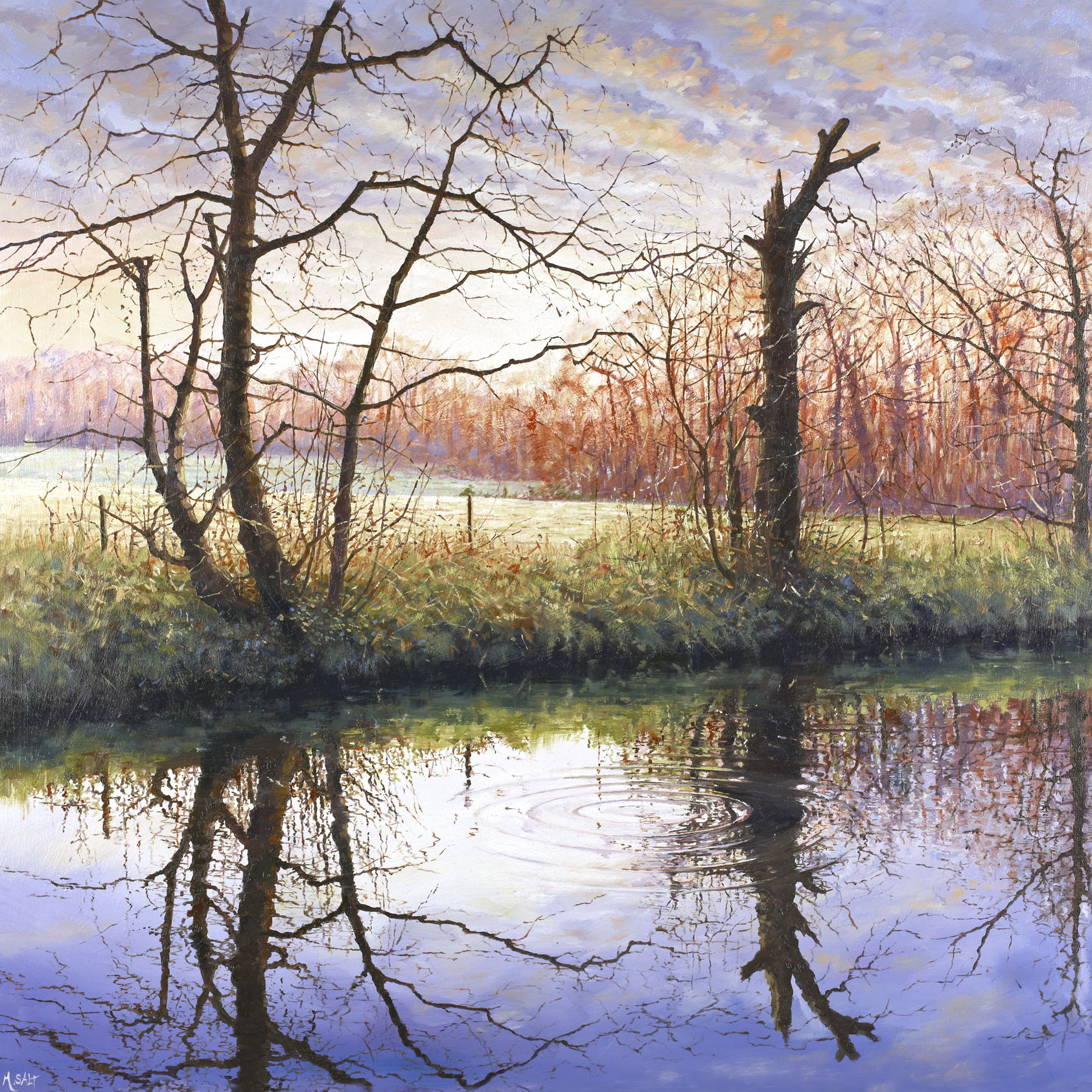 Autumn Ripple,oil,60cm x 60cm.jpg