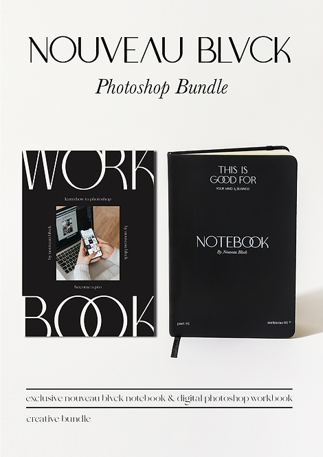 NOUVEAU BLVCK PHOTOSHOP BUNDLE