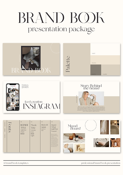 BRAND BOOK PRESENTATION PACKAGE