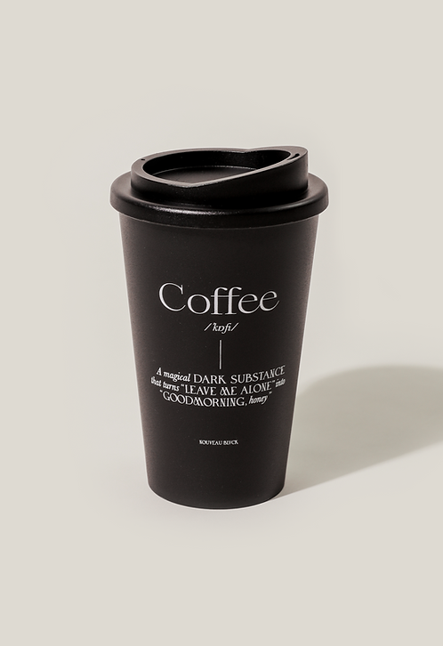 COFFEE TO GO CUP BLACK