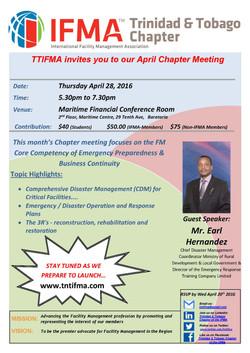 TTIFMA Chapter Meeting Apr. 2016