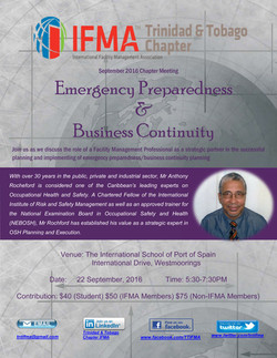 Sept.2016 Chapter Meeting