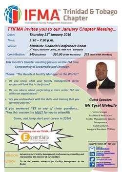 TTIFMA Chapter Meeting Jan. 2016