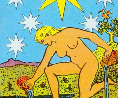 Aquarius Energy & The Star in Tarot