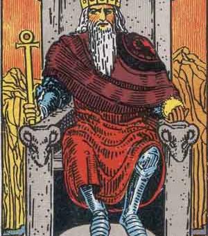 Aries Energy & The Emperor In Tarot