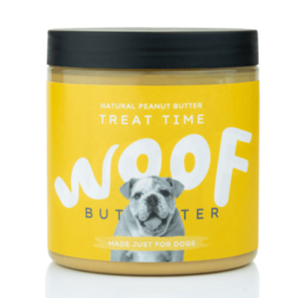 Woof Butter treat time