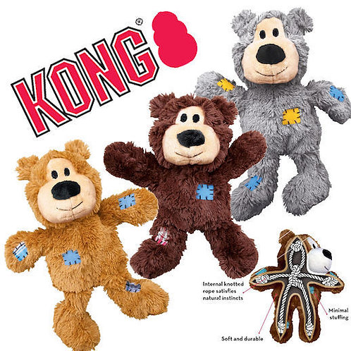 Kong wild knot bear ( single assort colour )
