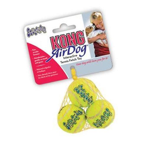 Kong mini tennis ball squeaky 3pk