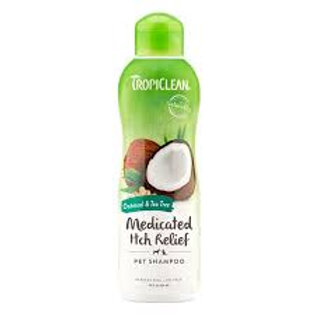 Tropiclean Medicated to soothe skin  SHAMPOO 395ml