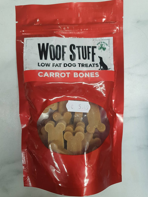 Woof stuff carrot bone treats