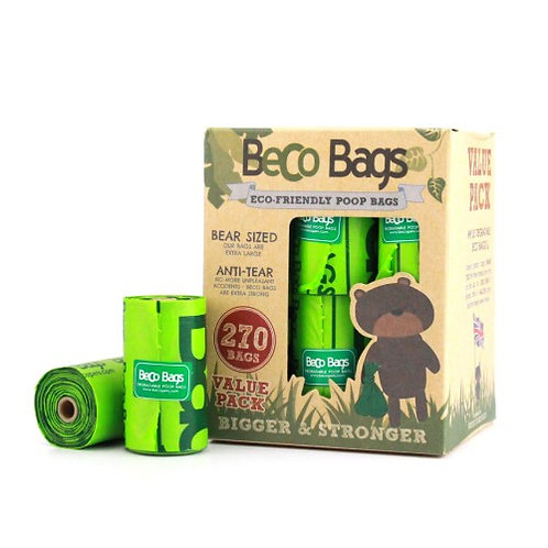 Beco unscented 270 pack poop bags