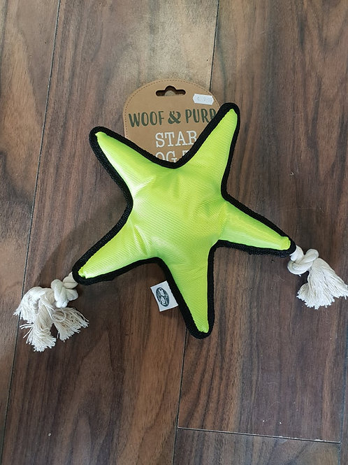 Woof& Purr Star dog toy
