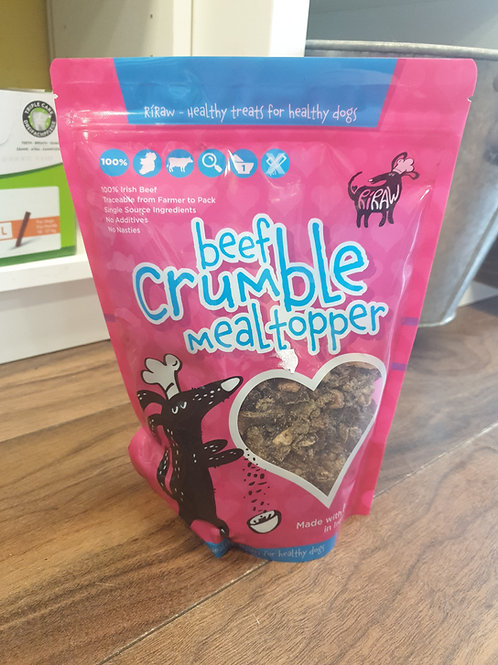 RiRaw beef crumble meal topper 500g