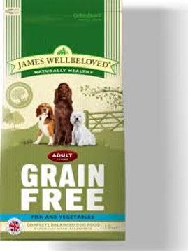 JamesWellbelove Grain Free adult fish