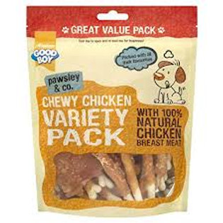 Good boy value pack variety bag 350g