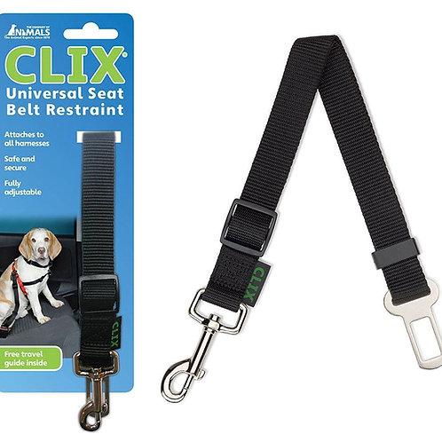 Clix dog car seat belt