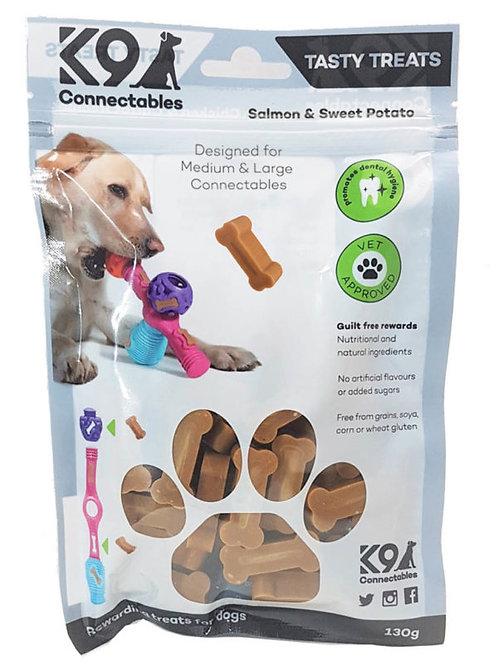 k9 connectablem/l treats salmon and sweet potato