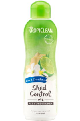 TROPICLEAN LIME & COCOA BUTTER PET CONDITIONER 395ml