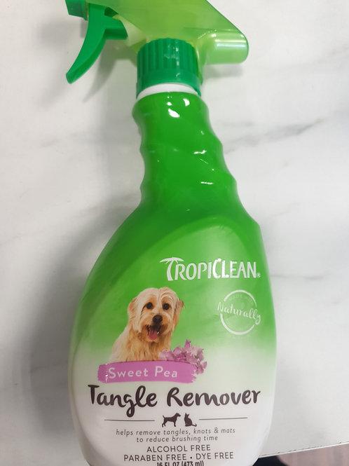 Tangle remover spray