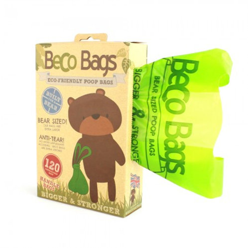 Beco unscented handle poop bags 120 pack