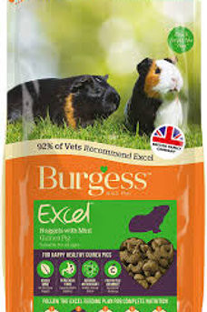 Burgess Excel Nuggets With Mint Guinea Pig 2kg