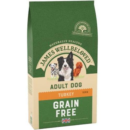 James Wellbeloved Grain Free adult turkey