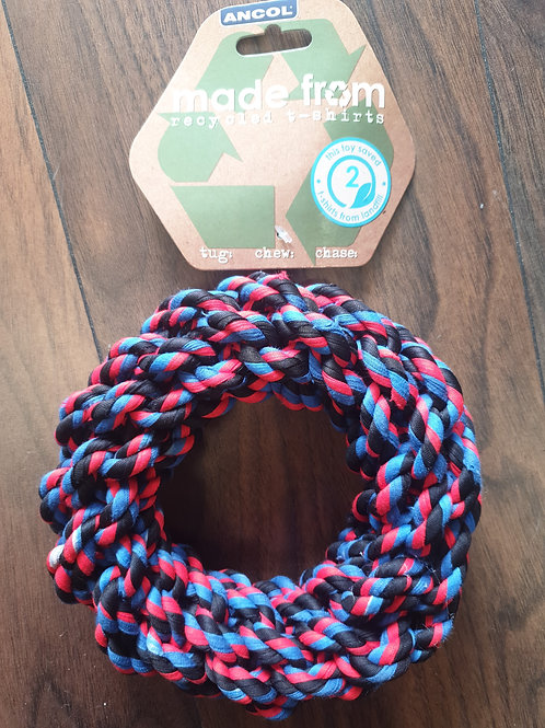 Ancol made from recycled tshirt ring 26cm