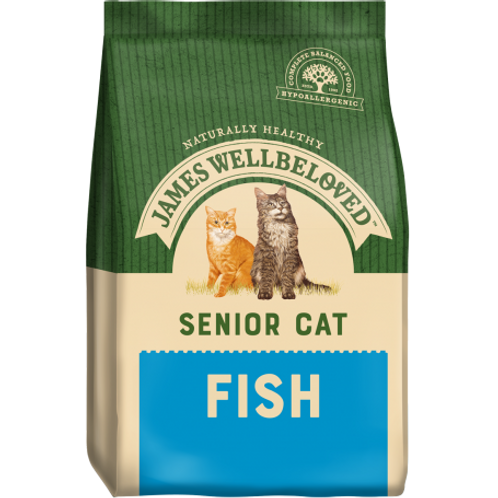 James welbeloved senior cat fish 2kg