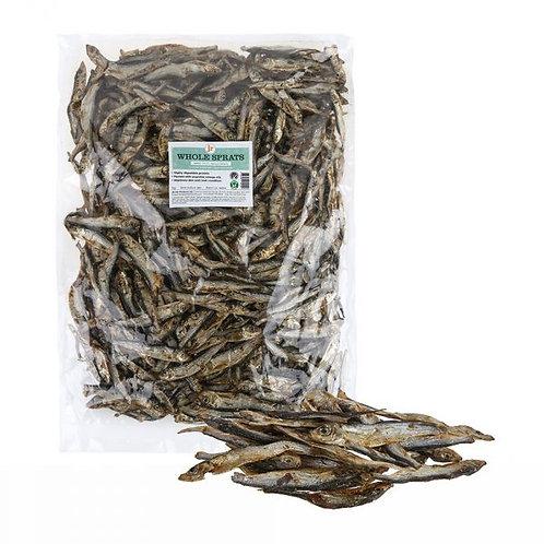 Jr pet dried Baltic sprats 85g