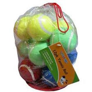 cheeko dog tennis balls 12pk