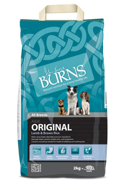 Burns original lamb and brown rice 2kg
