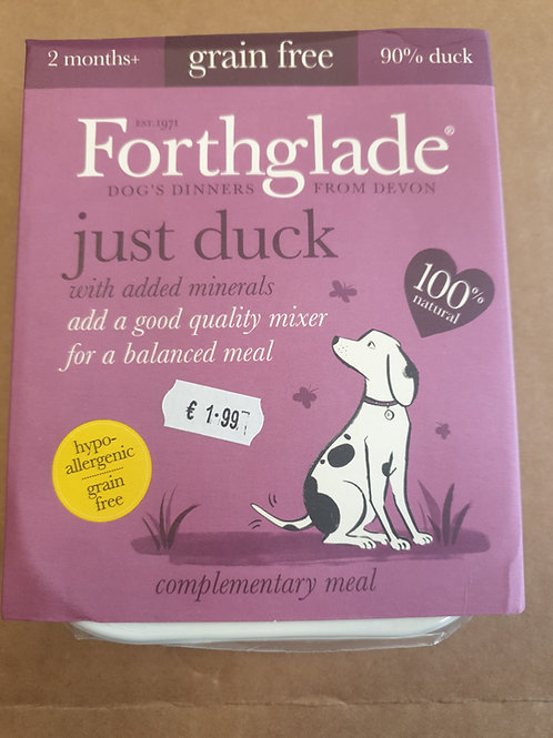 Forthglade just duck 395g
