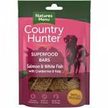 Country Hunter Natures Menu treats - Salmon and white fish