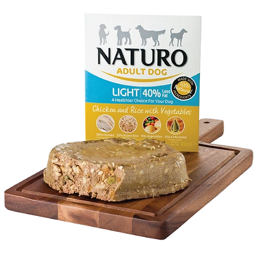 Naturo light chickenn 400g