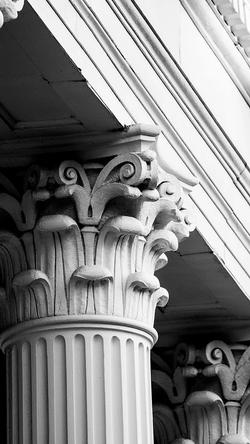 Allen Memorial columns