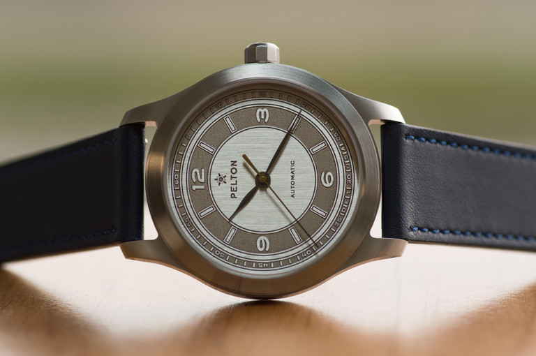 Pelton Limited Edition Sector Nickel Silver Watch