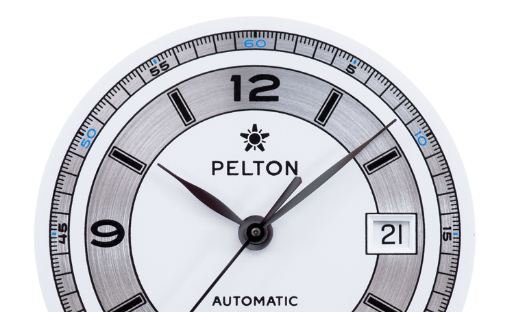 Pelton Sector Watch Dial