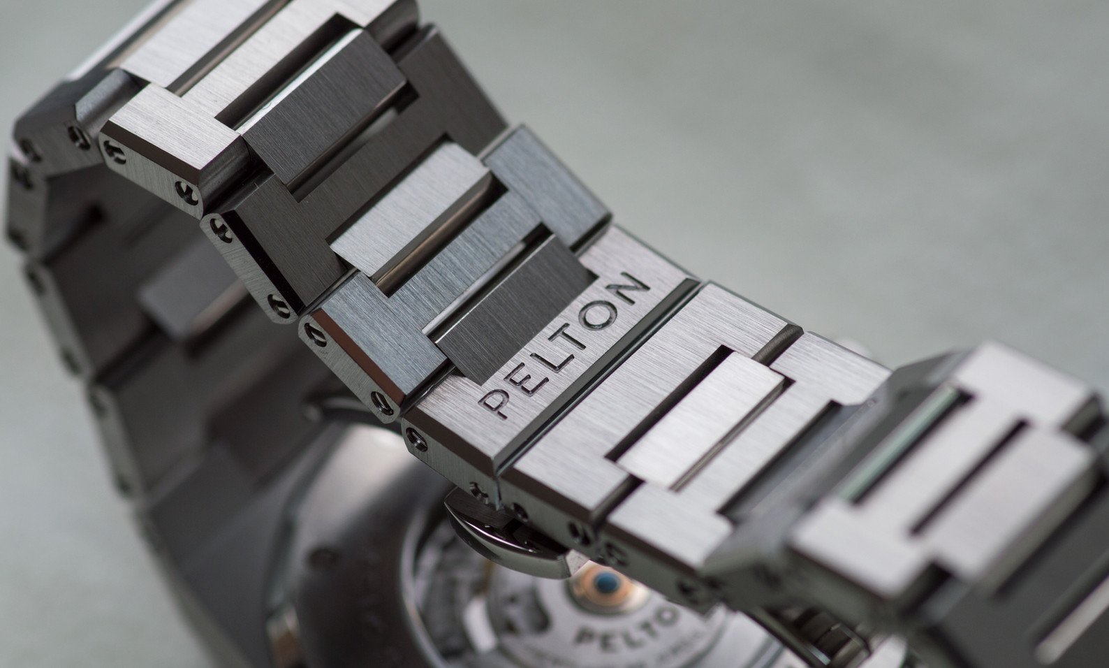 Pelton Perseus watch made in Detroit American watch