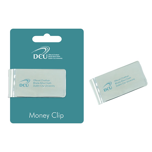 DCU Silver Plated Money Clip