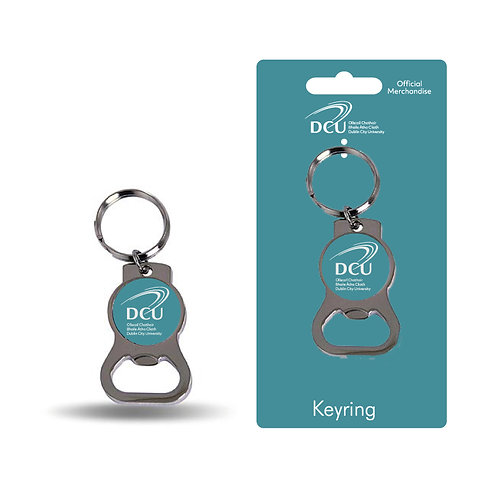 DCU keyring bottle opener