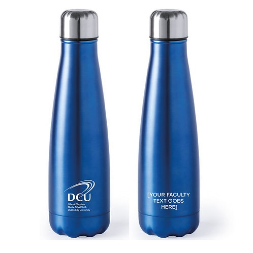 DCU Faculty Branded Aluminium Bottle Min Qty 50pcs
