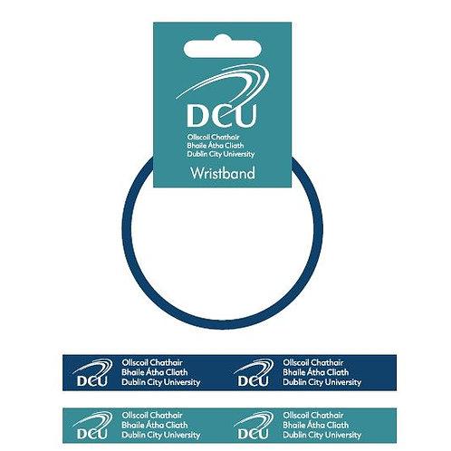 DCU Rubber Wristband