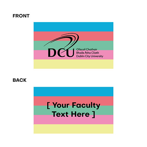 DCU Faculty Branded Rainbow Eraser Min Qty 250pcs